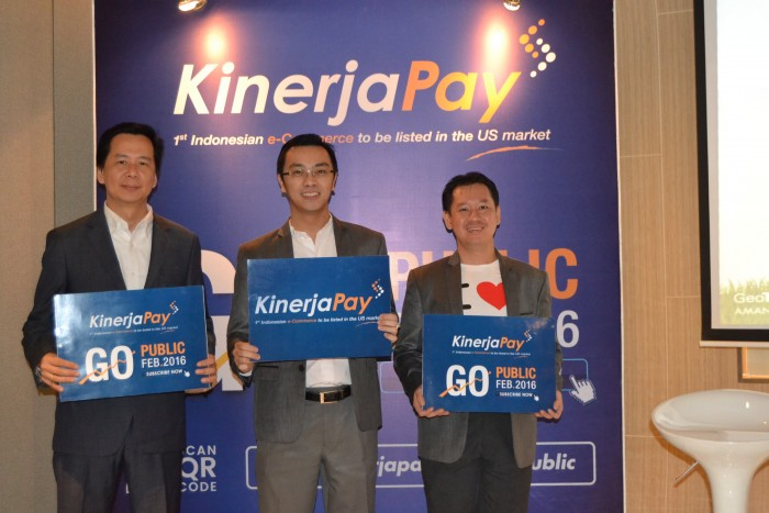 KinerjaPay announced in Press Conference about its plan to GO Public
